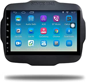 Android 6 0 Car Gps Navi For Jeep Renegade Touch Screen Elektronik