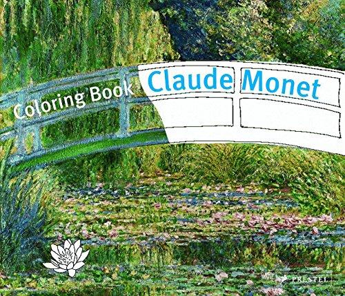 Colouring Book Monet (Prestel Colouring Books)