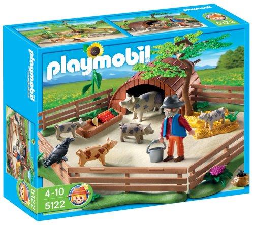 Playmobil - Granja Cerdos Con Cercado...