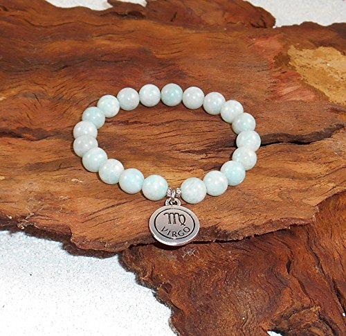 amazonite-bracelet-virgo-signs-of-the-zodiac-sterling-silver-charm-natural-gemstone-wrist-mala-beads
