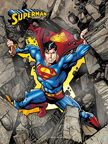 Superman. Caja metlica: Incluye: 3 libros, 4 rotuladores, 1 pster y ms de 50 pegatinas