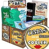 Omas sind wie Mamas nur cooler   Pflege Box   Geschenkbox   Omas sind wie Mamas nur cooler   Pflegepaket   Geschenk beste Oma   mit Florena Creme, Elka Dent, Badusan und mehr