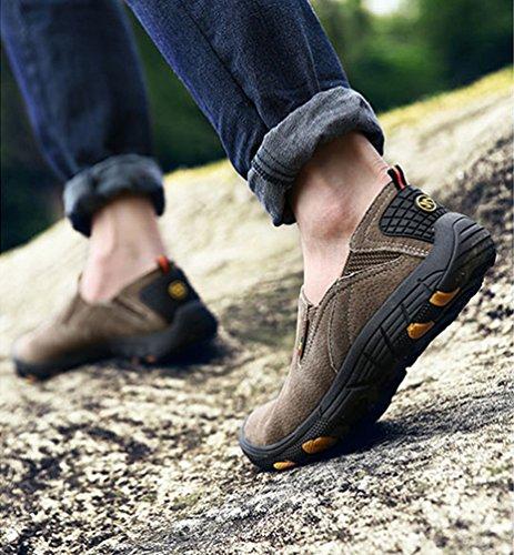 Uomo Scarpe e Cachi Yiiquan Scarpe Sportive Scarpe Trekking Moda da Casuale Piatte Lavoro dwx4qB0Z