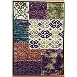 Fußmatte Wohnmatte Muster ca. 50x75 cm