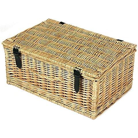 Cestino da picnic in vimini Storage 14Inch Regalo Cesto Natalizio per vuoto
