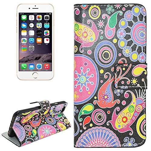 Phone case & Hülle Für IPhone 6 Plus / 6S Plus, Butterfly Pattern Horizontale Flip Magnetic Gürtelschnalle Ledertasche mit Card Slots & Wallet & Holder ( SKU : S-IP6P-0488F ) S-IP6P-0488B