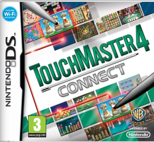 [UK-Import]Touchmaster 4 Connect Game DS