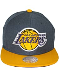 Mitchell & Ness - Casquette Snapback Homme Los Angeles Lakers Manhattan
