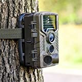 1080P HD 12MP Jagd Pfadfinder Trail Digital Kamera Spiel Wildlife IR LED Nacht
