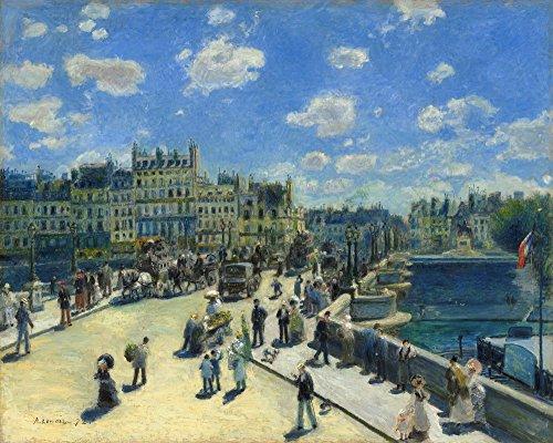Pierre Auguste Renoir Brücke (Berkin Arts Auguste Pierre Renoir Giclée Leinwand Prints Gemälde Poster Reproduktion (Brücke neun Paris))