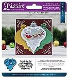 Die 'sire Night Before Christmas Classiques Weihnachten die, Silber, 2Stück