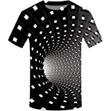 Men T-Shirts, Fashion Funny 3D Muscle Printed Short Sleeve Shirts Tees Funny Body Print T-Shirt for Men