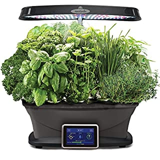 Miracle-Gro AeroGarden Bounty with Gourmet Herb Seed Pod Kit, Black