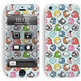 "Apple iPhone 5c Skin "" ANGRY PETS "" Sticker Handy Folie Aufkleber + Wallpaper, Schutzfolie fuer Cover"