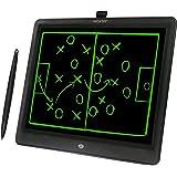"""Woxter Smart Pad 150 Black - Pizarra electrónica, Tableta de escritura de 15"""", Tonalidad Verde, Sensor de presión (10-200g),"""