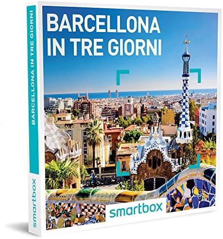 Smartbox Cofanetto Regalo- BARCELLONA IN TRE GIORNI - - - 3 soggiorni a scelta in hotel 3 e 4 | Diversified Nella Confezione  | marche  3abbb2