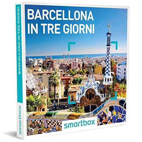 Smartbox cofanetto regalo- barcellona in tre giorni - 3 soggiorni a scelta in hotel 3* e 4*
