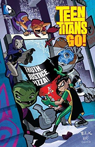 Ebook Teen Titans Go Truth, Justice, Pizza Teen Titans Go 2004-2008 English -4622