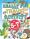 Really Fun Travel Activity Book For 5-7 Year Olds: Fun & educational activity bo