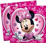 20Papierservietten 33x 33cm für Party A Thema Minnie