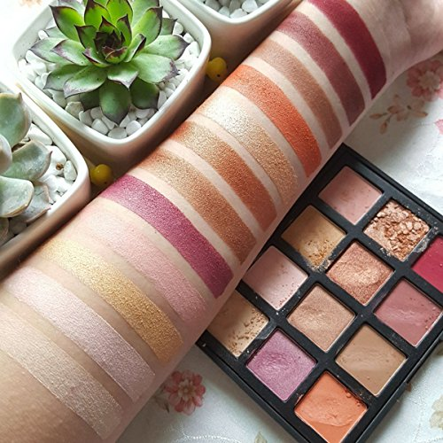 12 Colours Eyeshadow Eye Makeup Palette, DISINO Shimmer and Matte Natural Colors Make Up Set Eyeshadows Pallet