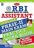 Kiran's RBI Assistant Online Phase - II Main Exam Practice Work Book - 1802