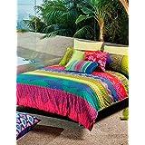 Kas Australia.- Conjunto de funda nordica Siesta para cama de 90 (funda nordica en medida 160x220 + 1 funda de almohada de 50x90)