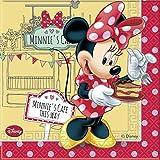 Café Disney Minnie Maus Papier Servietten, 20Stück