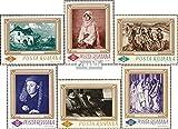 Rumänien 2519-2524 (kompl.Ausg.) 1966 Gemälde (Briefmarken für Sammler)