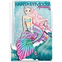 Top Model 10036Fantasy Model libro para colorear Mermaid