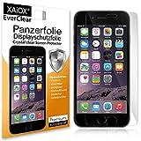 Xaiox 50820934 2X Everclear Panzer-Schutzfolie für Apple iPhone 6