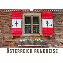 Österreich Rundreise (Wandkalender 2018 DIN A4 quer): Eine fotografische Rundreise zu den schönsten Orten Österreichs (Monatskalender, 14 Seiten ) ... Orte) [Kalender] [Apr 15, 2017] Ristl, Martin