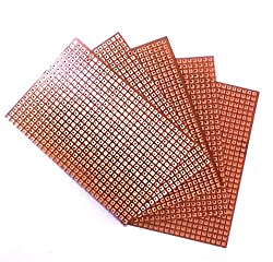 14 x 10 cm Dotted Printed circuit Board pack of 5 pcs