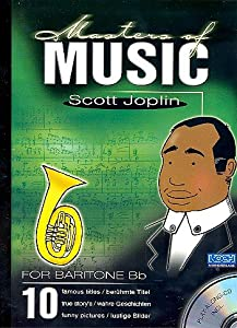 Masters Of Music - Scott Joplin - Baritone / Horn - BOOK+CD