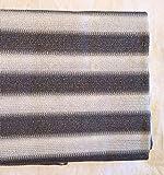 Grau&Weiß 8x0,9m Smart Deko Balkonsichtschutz, Balkonverkleidung, Windschutz, Sichtschutz und UV-Schutz für Balkon, Gartenanlagen, Camping und Freizeit (78833)
