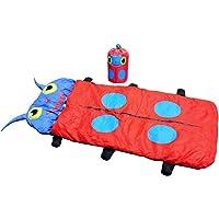 ENFANTS Sac de couchage, Leshp légère portable pour enfant chaud veille Lit avec Cute Animal Beetle pour camping randonnée Voyage