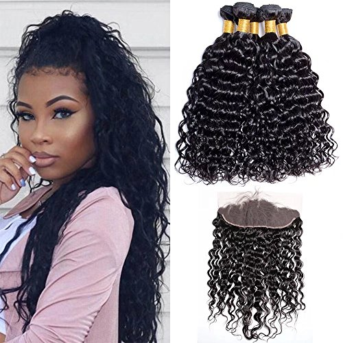 Hair Extensions & Wigs Fine Hc Body Wave Bundles With 360 Frontal Closure Human Hair 3 Bundle With Lace Frontal Remy Brazilian Hair Weave With Lace Closure For Improving Blood Circulation