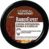 L'Oréal Paris Men Expert - Barber Club crema para definir la barba y el cabello - 75 ml