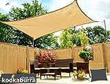 Kookaburra traspirante party Sun vela parasole 3m x 2m rettangolo 90% protezione UV