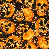 Timeless Treasures Totenkopf Stoff Skulls