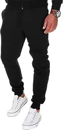 MERISH Pantaloni da Jogging Uomo Sportivi Fitness Cotone Slim Fit Allenamento 211