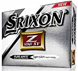 Srixon Z Star XV Bolas 4 Capas de Golf, Unisex Adulto, Blanco, Única