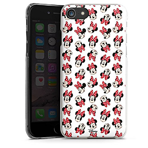 Apple iPhone 7 Plus Silikon Hülle Case Schutzhülle Disney Minnie Mouse Fanartikel Geschenk Hard Case transparent