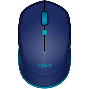 Logitech M535 Souris Bluetooth pour Windows, Mac, Chrome et Android - Bleu
