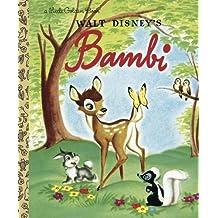 Bambi (Disney Bambi) (Little Golden Book) by Golden Books (2004) Hardcover