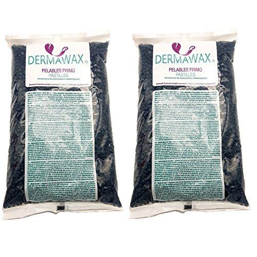 2 kg Azulen Niedrigtemperatur Premium Wachsperlen für Enthaarung, Haarentfernung