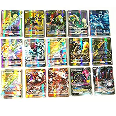 Funnyrunstore Pocket Monster Cards Sun Moon Pocket Monster Card Pokemon Carte da gioco inglesi por Funnyrunstore