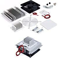 Robocraze DC 12V Thermoelectric Peltier Refrigeration Cooling System Semiconductor Air Conditioner Cooler DIY Kit