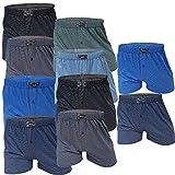 10 Boxershort Herren Unterhosen Boxershorts Men Baumwolle (7/L, 10.Stück mit Eingriff)