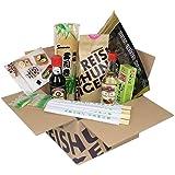 Reishunger Sushi Vorrats-Box (8-teilig, für bis zu 16 Personen) Komplett-Set mit Original Japanischen Zutaten - perfekt für häufige Sushi Zubereitung
